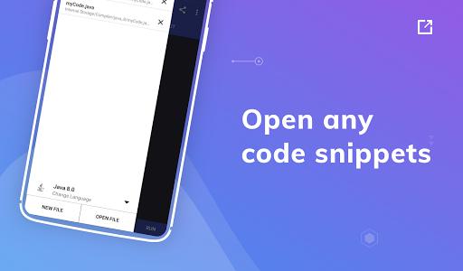 Online Compiler - Code on Mobile apktram screenshots 3