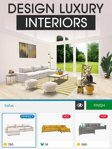 Home Makeover: Decorating Games & House Design Apkfinish screenshots 17