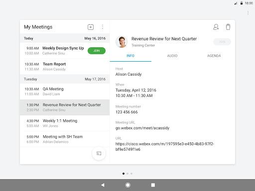 Cisco Webex Meetings 40.8.1 Screenshots 7