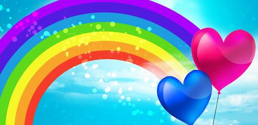 خلفيات ملونة قوس قزح التطبيقات على Google Play