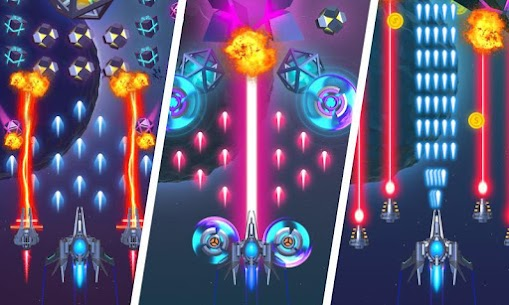 Dust Settle 3D-Infinity Space Shooting Arcade Game MOD APK (Unlocked) 2