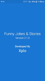 Funny Jokes and Stories Screenshot