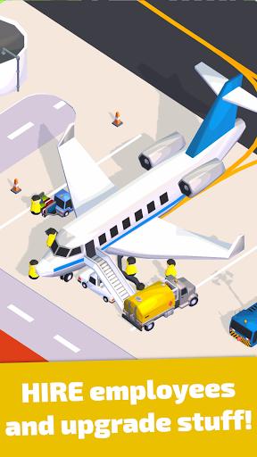 Air Venture - Idle Airport Tycoon u2708ufe0f apkdebit screenshots 3