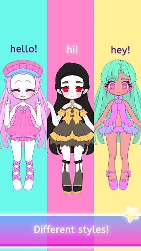 Mimistar - Pastel chibi doll girl dress up maker  screenshots 10