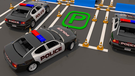 Modern Police Car Parking : Real Car Parking 3D  screenshots 2