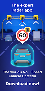 Radarbot Free: Speed Camera Detector & Speedometer 1