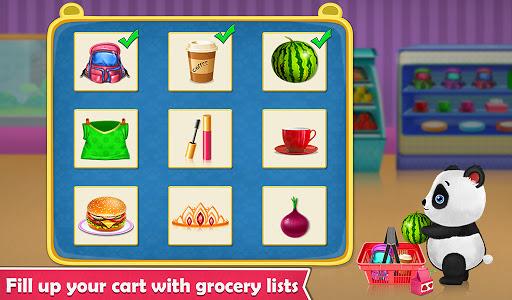 Panda Supermarket Shop - Fun Shopping Mania screenshots 2