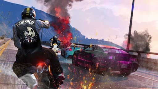 Highway Death Moto- New Bike Attack Race Game 3D  screenshots 23