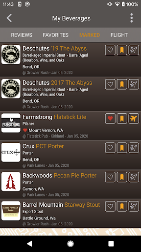 DigitalPour: Pocket Beer Menu 3.2 Screenshots 4