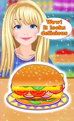 burger maker - girl cooking screenshot 3