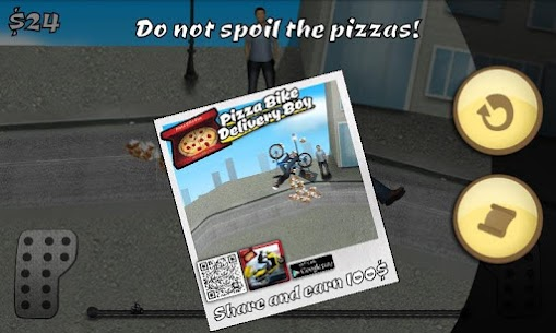 Pizza Bike Delivery Boy APK 1.165 (Unlimited Money) Download for Android 2