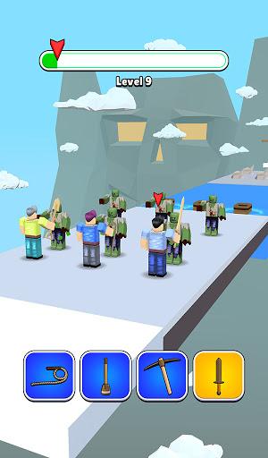 Roblock Transform Run - Epic Craft Race apkpoly screenshots 7