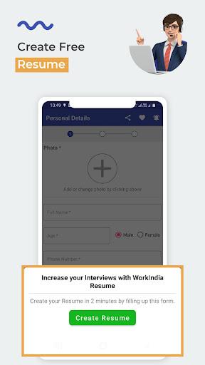 WorkIndia Job Search App - Work From Home Jobs apktram screenshots 8