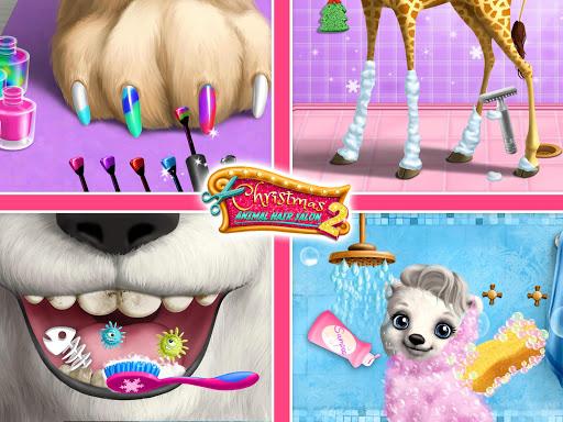 Christmas Animal Hair Salon 2  Screenshots 13