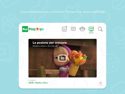 RaiPlay Yoyo 1.1.3 Screenshots 8