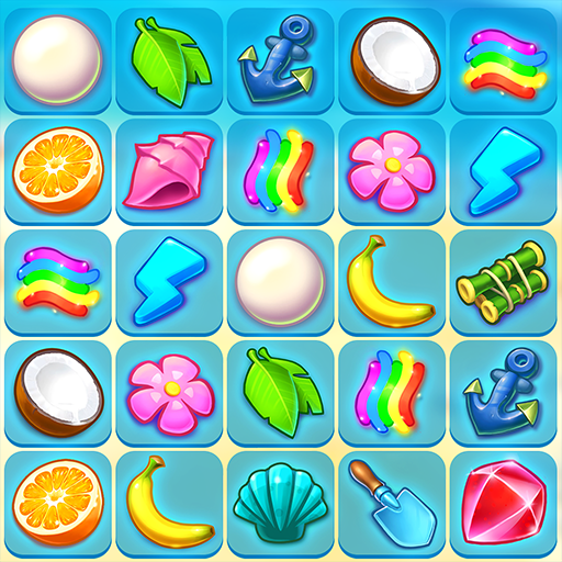 Onet Paradise: pair matching game, connect 2 tiles