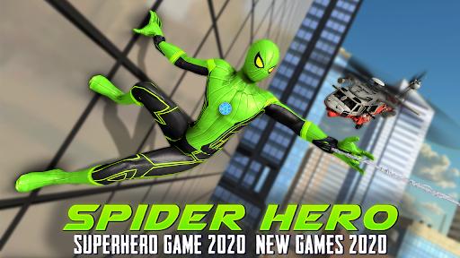 Spider Hero: Superhero Game 2020 - New Games 2020  screenshots 1