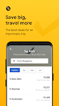screenshot of Cleartrip - Flights, Hotels, Train Booking App