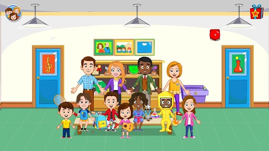 لعبة My Town : School مدرسة مهكرة Mod 6