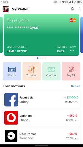 Prokit - Flutter 2.0 App UI Kit 6.0.0 Screenshots 5