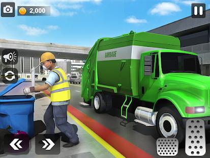 City Trash Truck Simulator: Dump Truck Games 1.37 Screenshots 9