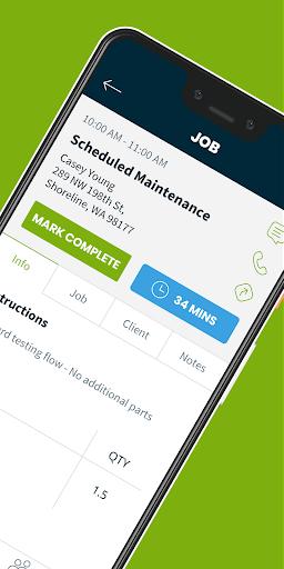 jobber - crm for field service: estimate & invoice screenshot 2