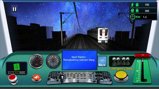 Indian metro train simulator  screenshots 6