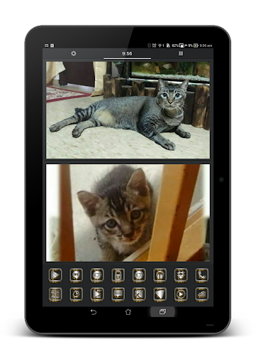 SilverGold 3D Icon CM&Launcher For PC Windows (7, 8, 10, 10X) & Mac Computer Image Number- 17