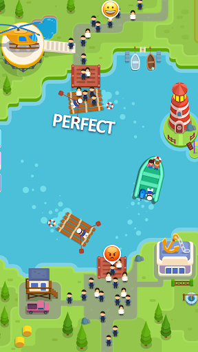 Idle Ferry Tycoon - Clicker Fun Game android2mod screenshots 1