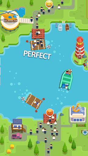 Idle Ferry Tycoon - Clicker Fun Game modiapk screenshots 1