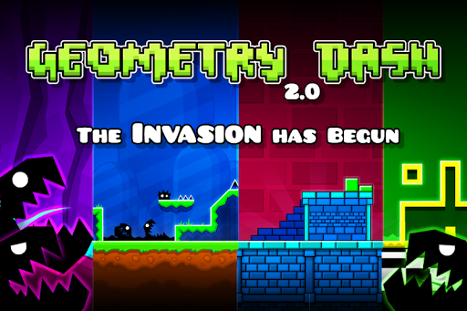 Geometry Dash  screen 0