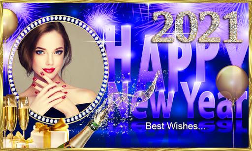 Happy New Year 2021 Photo Frames Greeting Wishes 1.0.1 Screenshots 5