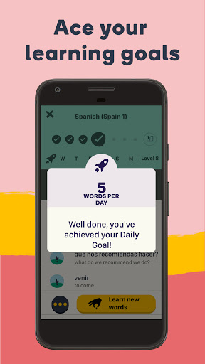 Learn Languages with Memrise - Spanish, French  Screenshots 7