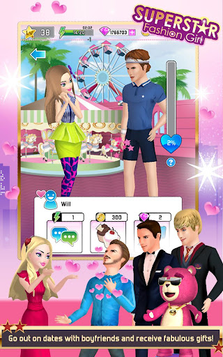 Superstar Fashion Girl 1.1.0 screenshots 2