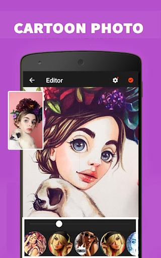 Cartoon Photo Maker And Editor 5.0 Screenshots 1