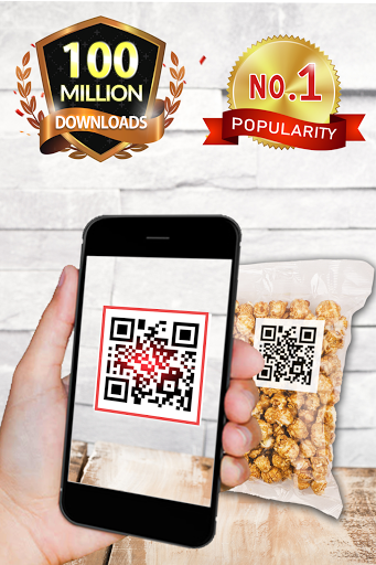 QR code reader & QR code Scanner 3.2.8 Screenshots 1