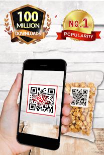 kostenloser QR-Codeleser/QR code scanner kostenlos Screenshot