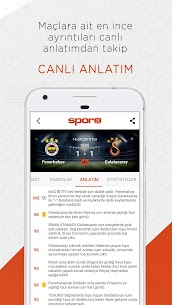 Sporx Spor Haber amp  Canlı Skor 4