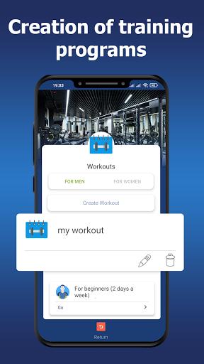 Gym workouts - Training programs.  screenshots 2