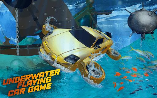 Underwater Flying Car Game 1.0.2 screenshots 12