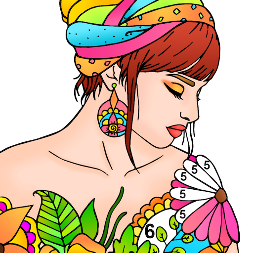 Adult Color By Number-Paint By Number Book Free