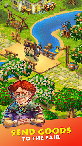 Farmdale: farming games & township with villagers 6.0.1 Screenshots 2