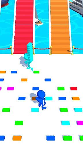 Bridge Race Run - Bridge Race 3D Game  screenshots 1