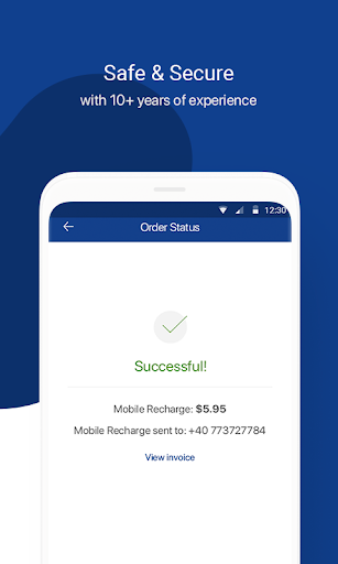MobileRecharge: Mobile Top Up - Easy & Fast Refill  Screenshots 3