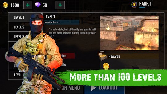 Zombie Shooter Hell 4 Survival Mod Apk (UNLIMITED REWARD GOLD) 3