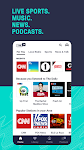 screenshot of TuneIn Radio: News, Sports, Music & Radio Stations