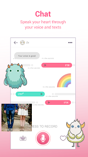 MonChats - Meet new people with voice! Screenshot