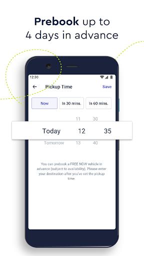 FREE NOW (mytaxi) - Taxi Booking App Apkfinish screenshots 6