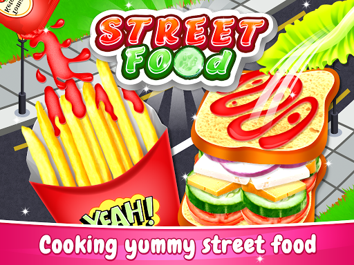 Code Triche Street Food - Cooking Chef Game (Astuce) APK MOD screenshots 1