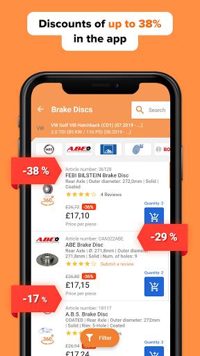 AUTODOC u2014 Auto Parts at Low Prices Online 1.8.6 Screenshots 4